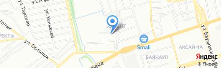Студия красоты Тайпаковых на карте Алматы