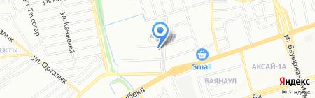 Магазин хозяйственных товаров и бытовой химии на ул. Аккент на карте Алматы
