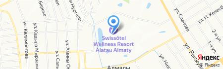 Национальная Агропромышленная Компания на карте Алматы