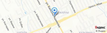 Аслан на карте Алматы