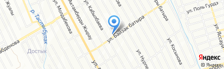 Швейная мастерская на карте Алматы