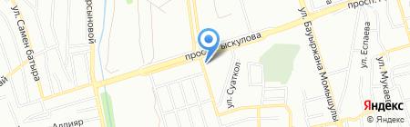 Ильяс продовольственный магазин на карте Алматы
