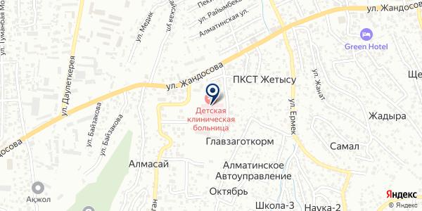 Банкомат, Банк ЦентрКредит на карте Тастыбулаке