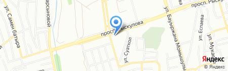 Султан продовольственный магазин на карте Алматы