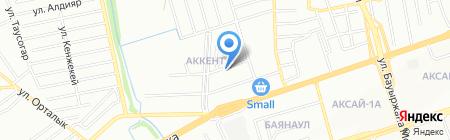 Байсал на карте Алматы