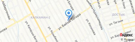 Парикмахерская на ул. Байзак батыра на карте Алматы