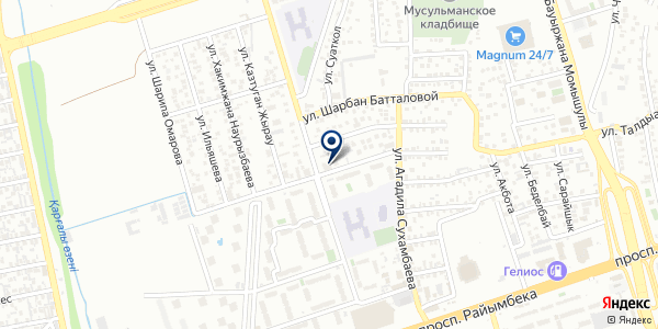 Medinilla на карте Алматы