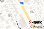 Схема проезда до компании Цветная в Алматы