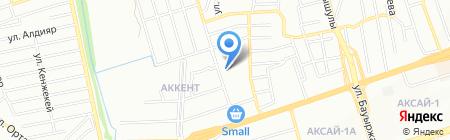 Общеобразовательная школа №181 на карте Алматы