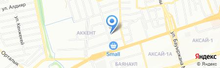 Маркшейдер на карте Алматы