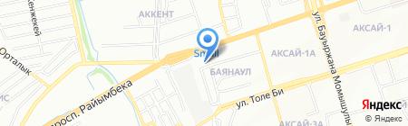 Детство Тур Сервис на карте Алматы