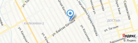 НурРай на карте Алматы