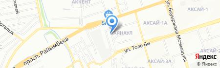 Детский сад №158 на карте Алматы