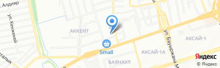 Mybet на карте Алматы
