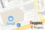 Схема проезда до компании Три Самурая в Алматы