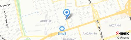 Ателье по подгонке одежды на ул. Сухамбаева на карте Алматы