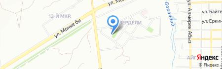SkyGym на карте Алматы
