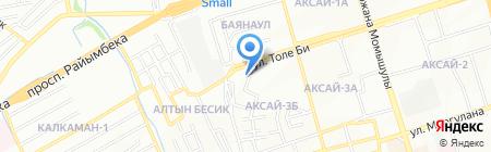 Евразия на карте Алматы