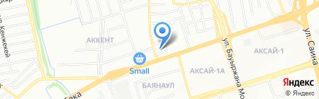 У Ербола на карте Алматы