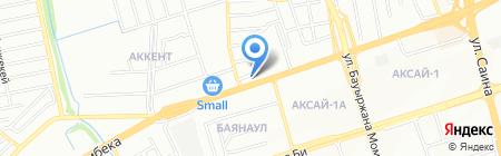 АЗС СтройКерамика на карте Алматы