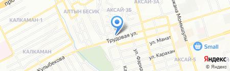 Бек продуктовый магазин на карте Алматы