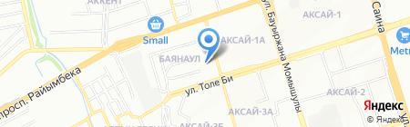 Банкомат Альянс Банк на карте Алматы