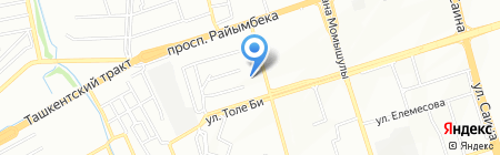 Салон автостекол на карте Алматы