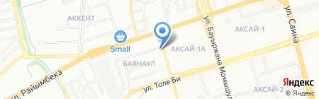 Лидер на карте Алматы