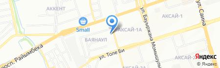 RED SCORPION на карте Алматы