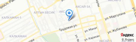 Ипар на карте Алматы
