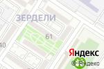 Схема проезда до компании Таза ырыс в Алматы