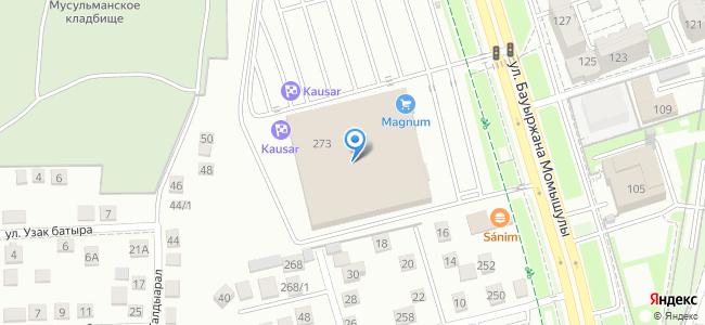 Казахстан, Алматы, Алатауский район, микрорайон Акбулак, улица Хан Шатыр, 273