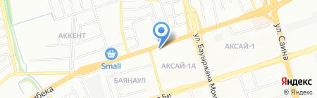 Red Star на карте Алматы