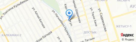 Строй маркет Р & Д на карте Алматы