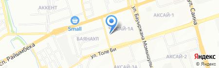 Викан G.M.A. на карте Алматы
