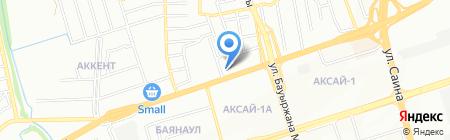 Карапетян на карте Алматы
