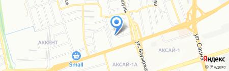 Жана Жол на карте Алматы