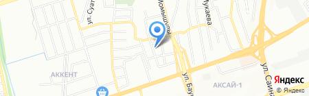 Ажархан продуктовый магазин на карте Алматы