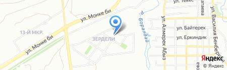 Общеобразовательная школа №182 на карте Алматы