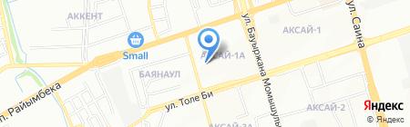 Аскер на карте Алматы