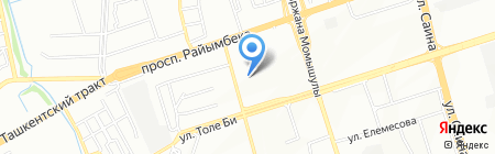 Sarku print на карте Алматы