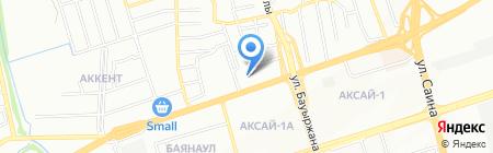 Winnac Elite на карте Алматы