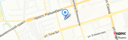 КазЭкспертПромБезопасность на карте Алматы