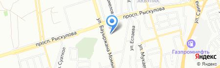 Monty на карте Алматы