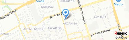 Ням Ням на карте Алматы