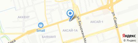 Апрель салон красоты на карте Алматы