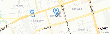 Люкс ТОО на карте Алматы
