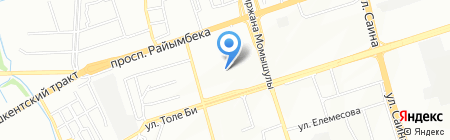 Султан универсальный магазин на карте Алматы