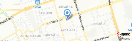 Айша салон красоты на карте Алматы