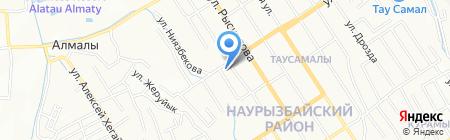 Эльдар на карте Алматы